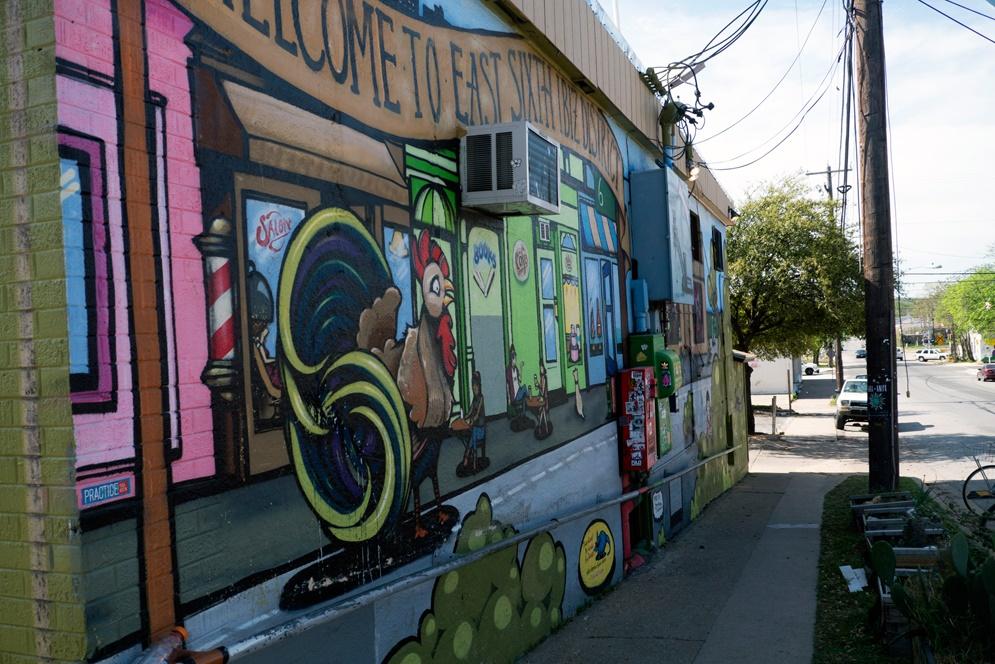 East 6th Street Austin